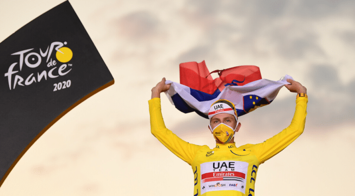 Tour de France 2021 : UAE se présente avec le vainqueur sortant Tadej Pogacar