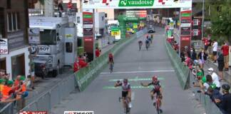 La grosse vague de la 6e étape du Tour de Suisse 2021