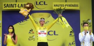 """Tour de France 2021 : Tadej Pogacar s'impose pour la 1e fois avec le maillot jaune : """"Indescriptible"""""""
