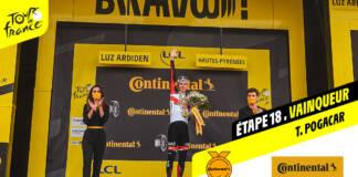 Tour de France 2021 : Le classement complet de la 18e étape