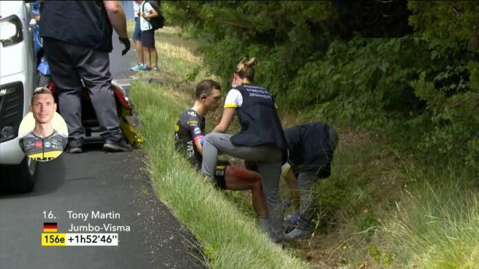 Tour de France 2021 : Abandon de Tony Martin