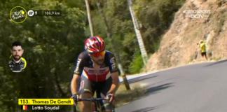 Tour de France 2021 : Thomas De Gnetd à l'attaque sur la 15e étape