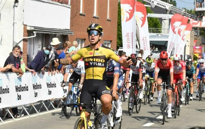 Dylan Groenewegen victorieux d'entrée au Tour de Wallonie 2021
