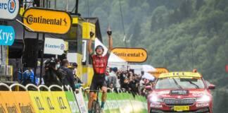 Tour de France 2021 : Dylan Teuns remporte la 8e étape, Tadej Pogacar prend le maillot jaune