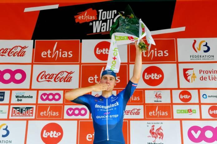 Le Tour de Wallonie 2021 symbole du retour de Fabio Jakobsen au haut niveau