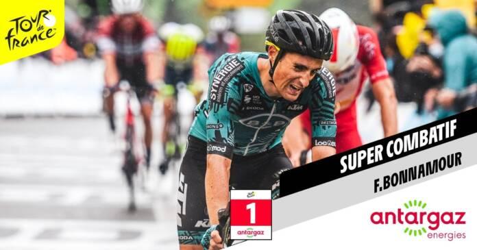 Franck Bonnamour super combatif du Tour de France 2021