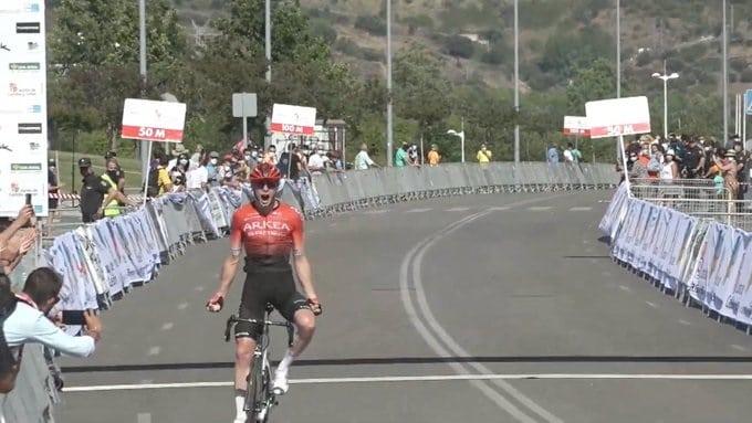 Matis Louvel vainqueur du Tour de Castille et Leon 2021