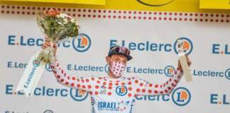 Tour de France 2021 : Michael Woods porteur du maillot à pois au départ de la 15e étape