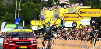 Nils Politt le plus fort sur la 12e étape du Tour de France 2021