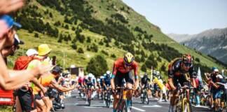 Wout Poels avec le aillot à pois au Tour de France 2021