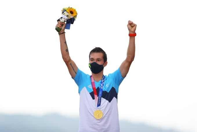Primoz Roglic s'illustre aux Jeux Olympiques de Tokyo