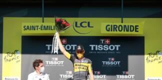 Victoire de Wout Van Aert au 2e chrono du Tour de France 2021