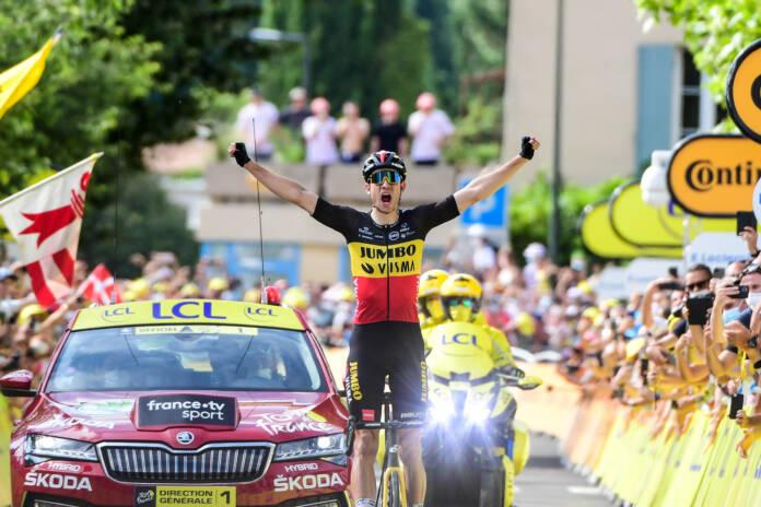 Tour de France 2021 : Wout van Aert remporte la 11e étape