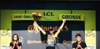 Wout Van Aert repousse loin ses concurrents au 2e chrono du Tour de France 2021
