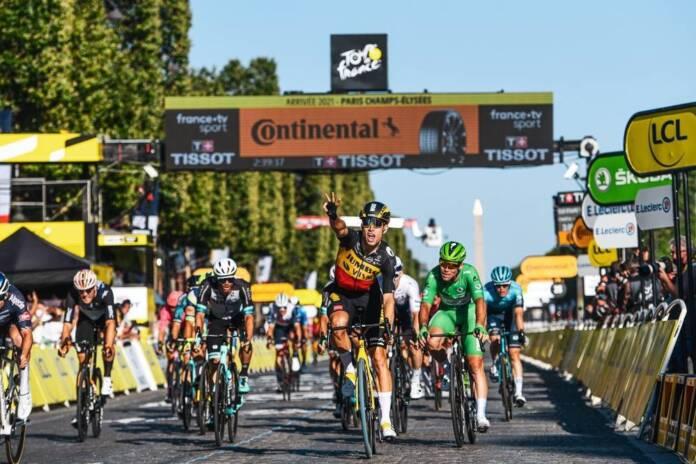 Wout Van Aert dernier vainqueur d'étape du Tour de France 2021