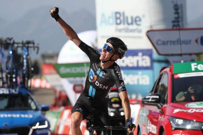Romain Bardet brille sur les routes de la Vuelta 2021