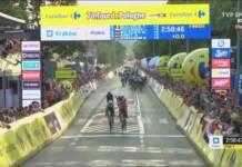 Julius van den Berg est le denrier vainqueur d'étape du Tour de Pologne 2021