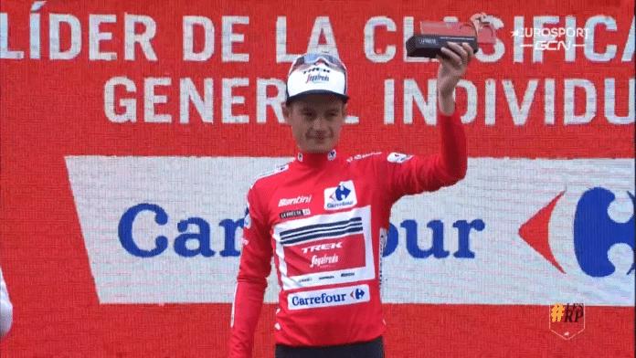 Vuelta 2021 : Kenny Elissonde est le nouveau maillot rouge !