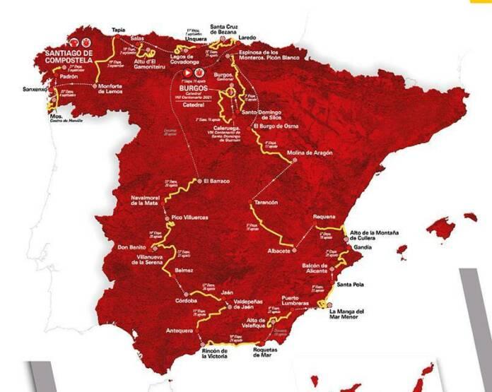 Vuelta 2021 : Le parcours complet et le profil des 21 étapes du 76e Tour d'Espagne