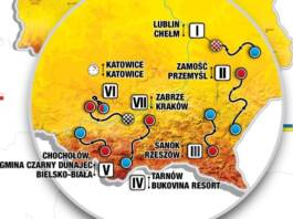 Tour de Pologne 2021 : Le parcours complet et tous les profils des étapes