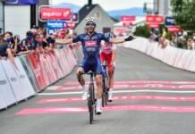 Philipp Walsleben dernier vainqueur d'étape à l'Arctic Race of Norway 2021