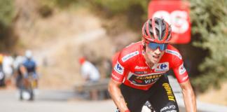 Vuelta 2021 : La réaction de Primoz Roglic après sa chute