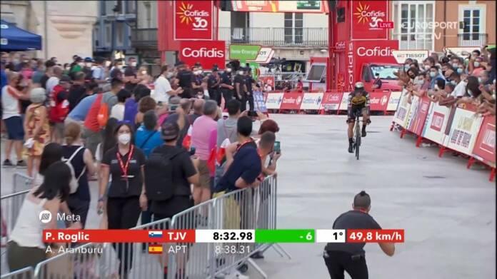 Vuelta 2021 : Primoz Roglic remporte la 1e étape