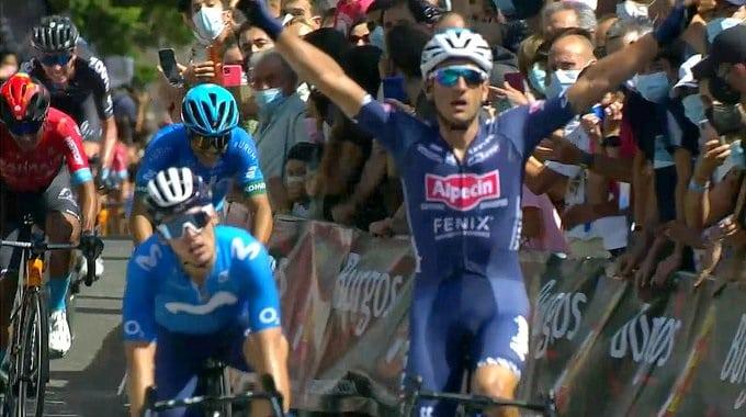 Edward Planckaert vainqueur d'entrée au Tour de Burgos 2021