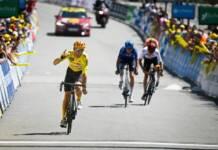 Tobias Halland Johannessen impérial en montagne sur le Tour de l'Avenir 2021