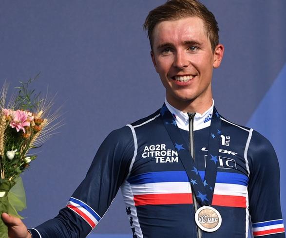 Benoit Cosnefroy prêt pour les championnats du monde de cyclisme 2021