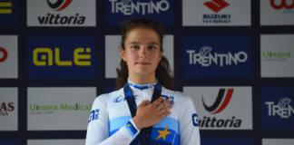Championnats d'Europe 2021 : Alena Ivanchenko sacrée championne de chrono chez les juniors