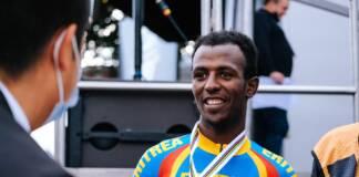Championnats du Monde 2021 de cyclisme sur route : Biniam Girmay offre sa première médaille à l'Afrique noire