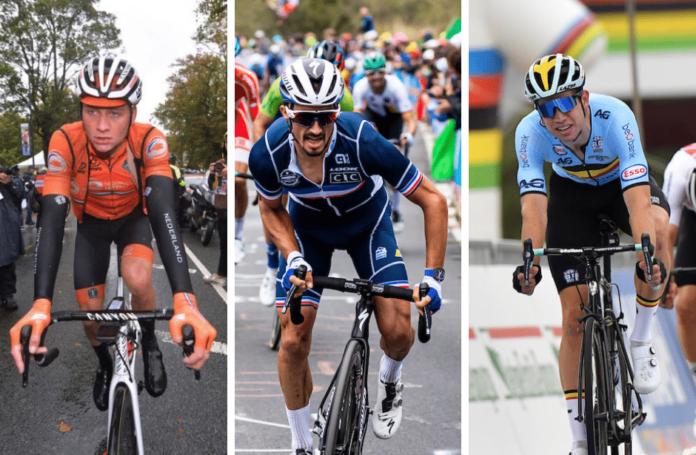 Championnats du Monde 2021 de cyclisme sur route : La liste des engagés ce dimanche 26 septembre