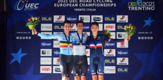 Championnats d'Europe 2021 : Eddy Le Huitouze 3e du contre-la-montre chez les juniors