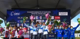 Championnats d'Europe : Engagés et horaires des départs du relais mixte
