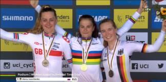 Championnats du Monde 2021 de cyclisme sur route : Alena Ivanchenko sacrée chez les juniors femmes