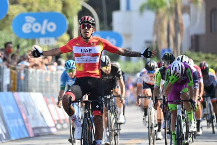 Juan Sebastian Molano dominateur au Tour de Sicile 2021