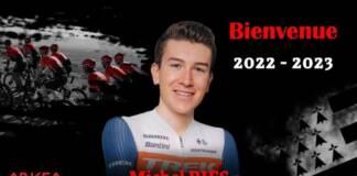 Michel Ries signe en faveur du Team Arkéa-Samsic