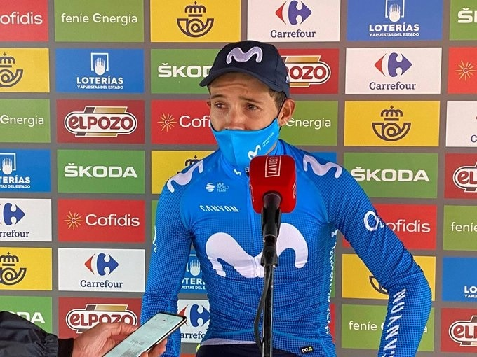 Miguel Angel Lopez vainqueur de la 18e étape de la Vuelta 2021