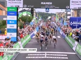 Tour du Luxembourg 2021 : Sacha Modolo remporte la 3e étape