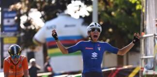 Elisa Balsamo remporte les Championnats du Monde 2021 chez les Elites Femmes
