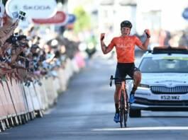 Tour de Grande-Bretagne 2021 : Robin Carpenter remporte la 2e étape