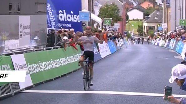 Marc Hirschi vainqueur de l'étape 2 du Tour de Luxembourg 2021