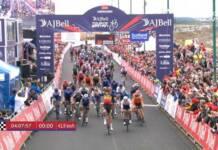 Wout Van Aert aura dominé dans l'ensemble le Tour de Grande-Bretagne 2021