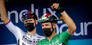 Colbrelli et Mohoric les atouts de Bahrain Victorious pour Paris Roubaix