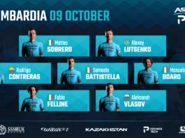Tour de Lombardie 2021 : Astana-Premier Tech mise sur Vlasov et Lutsenko
