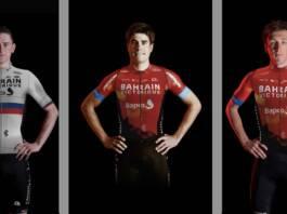 Effectif Bahrain-Victorious au départ du Tour de Lombardie 2021
