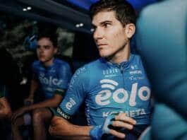 L'effectif EOLO-Kometa sur le Tour de Lombardie 2021