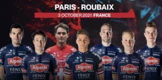 Effectif Alpecin-Fenix sur Paris-Roubaix 2021
