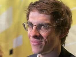 Guillaume Martin à la présentation du Tour de France 2022